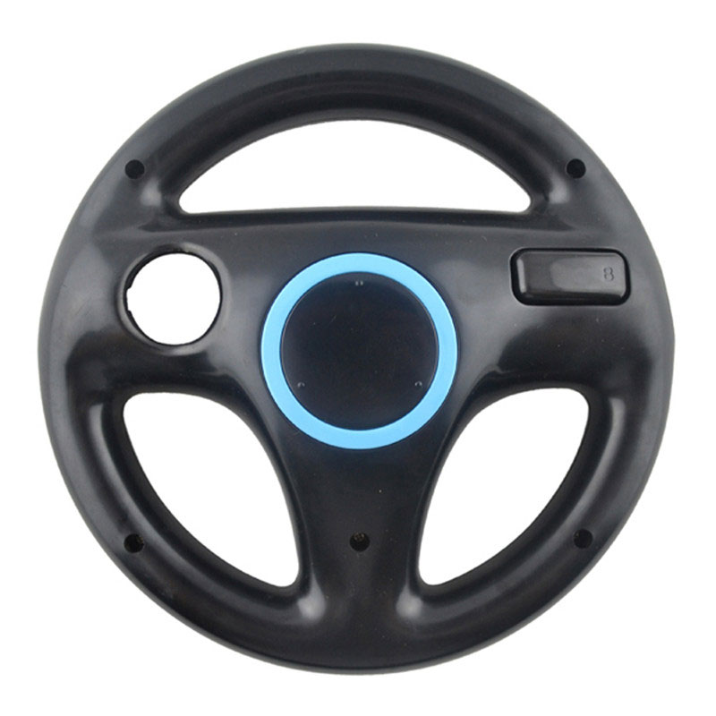 Cewaal 6 colors Racing Game Round Steering Wheel Remote Controller for Nintendo for Wii ...
