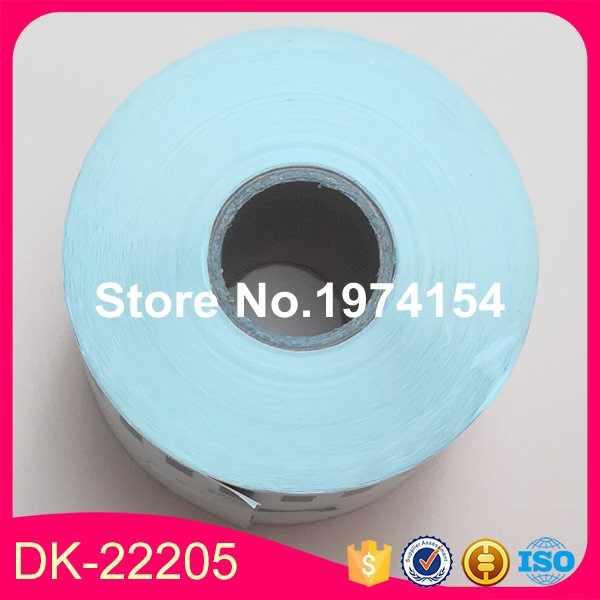 1X GULUNGAN Bruder Kompatibel Label DK-22205 DK-2205 DK22205 DK2205
