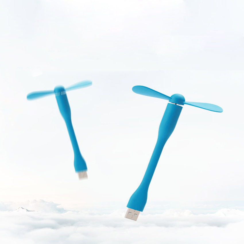Portable Flexible USB Cooler Mini Cooling Fan Cute Colorful Cooler For Laptop Desktop Computer Free Shipping 9