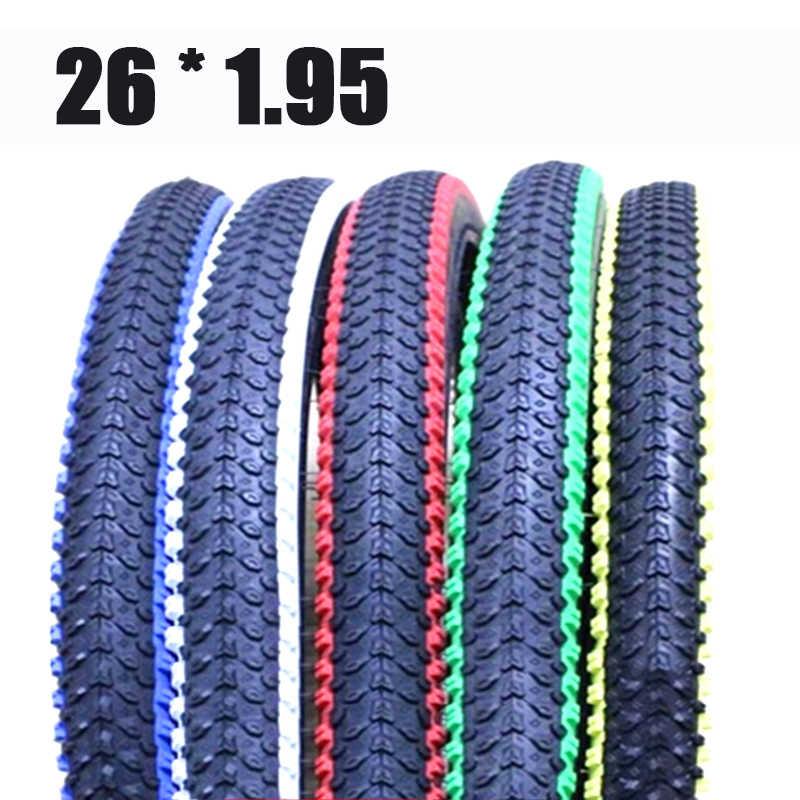 Catazer 26*1.95 MTB Road Fiets Fietsen Banden 60/90 TPI 60/120 PSI Antislip Bike Tire Multicolor Bike Tire