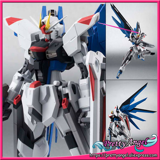 Anime Original Bandai Tamashii Nations Robot Spirits No.183 Mobile Suit Gundam SEED Action Figure - ZGMF-X10A Freedom Gundam original bandai tamashii nations robot spirits exclusive action figure rick dom char s custom model ver a n i m e gundam