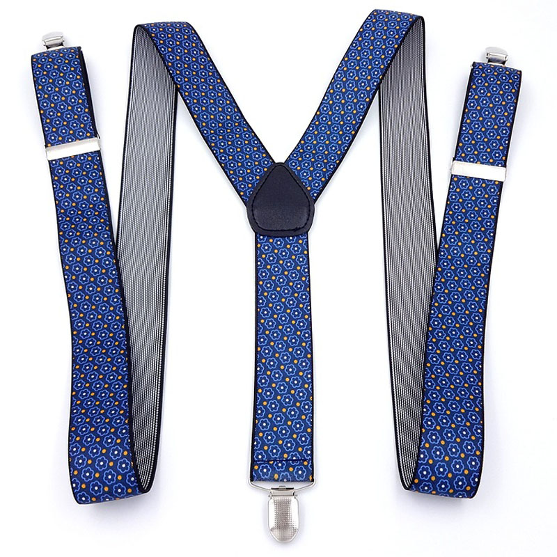 Men With 3.5 Jacquard Suspenders FY18102204