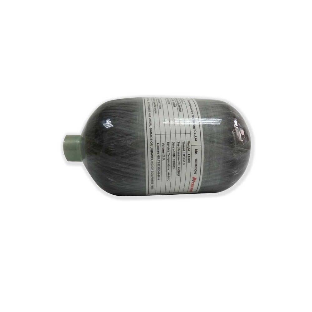 AC5020 Acecare Air Fifle Pcp Paintball/Mini Air Tank 4500Psi 300Bar 2L CE PCP Carbon Faser Zylinder Pcp Mini scuba Tauchen Tank