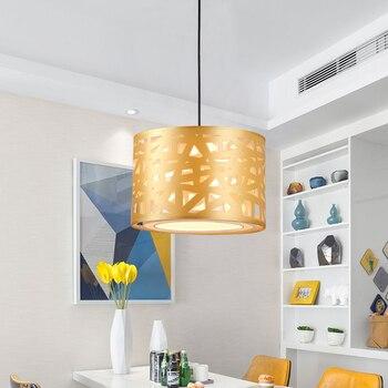 Moderne Minimaliste Restaurant Pendentif Lumières Personnalité Créative Pot Chaud Magasin De Coiffure Internet Café Pendentif LED Lumière FG500