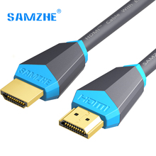 SAMZHE Cabo HDMI 2.0 Gold-banhado a ouro 4 K * 2 K 60Hz UHD HDMI Cabo 0.75/1/1.5/2/3/5/8/10 m ou TV HD LCD Portátil Projetor PS3 computador