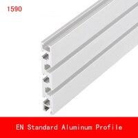 2pcs length 500mm 1590 Aluminium Profile EN Standard Industrial Bracket for DIY Bracket Table Holder AL Aluminum