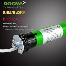 Высокое качество оригинальный Dooya трубчатый 220 В 50 мГц DM35R моторизованный прокатки жалюзи biulted Приемник 433 мГц для умный дом
