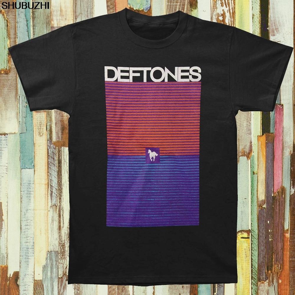 T-shirts Realistisch Deftones Männer Abstrakte Sunset T-shirt Heißer Verkauf Sommer Kurzen Ärmeln Schwarz Tops S Zu 3xl Sbz1180 Volumen Groß