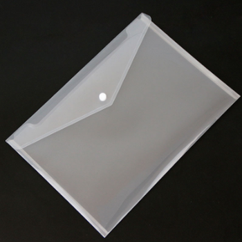 300PC Transparent Plastic A4 Folders File Bag Document Hold Bags Folders Filing Paper Storage Office School Supplier 1