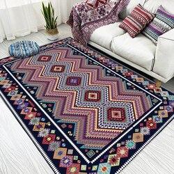 Grande estilo de marrocos kilim tapetes macios para sala de estar antiderrapante casa tapie decoração quarto tapete macio área de cabeceira tapetes