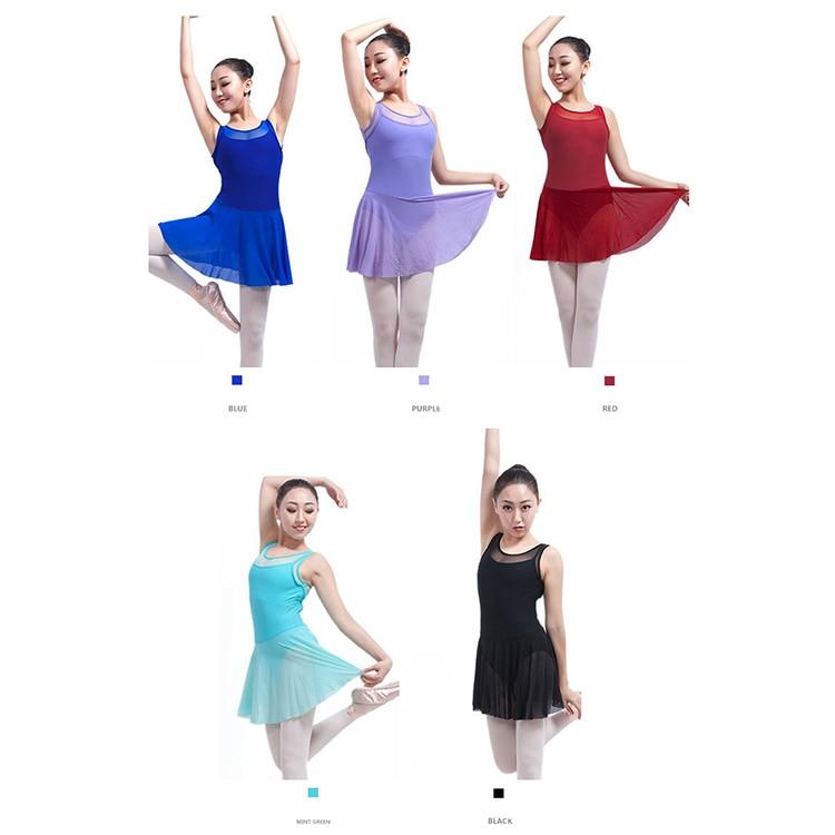 394a49a2a Acquista Body Balletto Senza Schienale Con Gonna Le Donne Ragazze ...