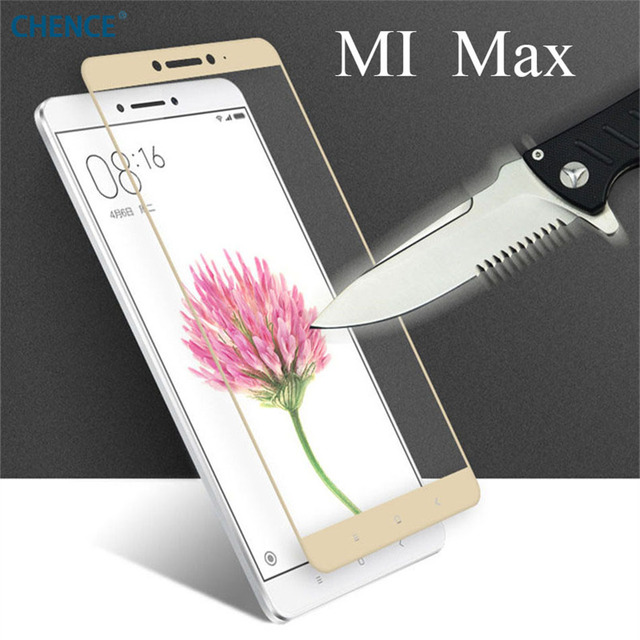 CHENCE For Xiaomi Mi MAX 2 Tempered Glass 6.44inch 100% New Premium Screen Protector Film For Xiaomi Mi MAX Cell Phone