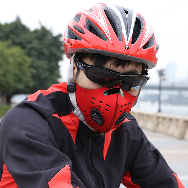 New Arrivals One Size Bike Bicycle Sport Riding Neck Warm Protect Face Mask Dustproof Guard mascara ciclismo Cycling Accessories 2