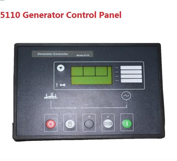 FREE SHIPPING Deep Sea Generator Set Controller Module P5110 Generator Control Panel replace DSE5110 free shipping original amf25 com ap generator controller auto start control module