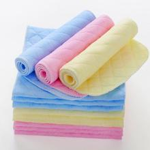 2PCS/Lot Reusable Baby Cloth Diaper Nappy Liner insert 3 Layers 100% Cotton Washable Baby Care Nappies
