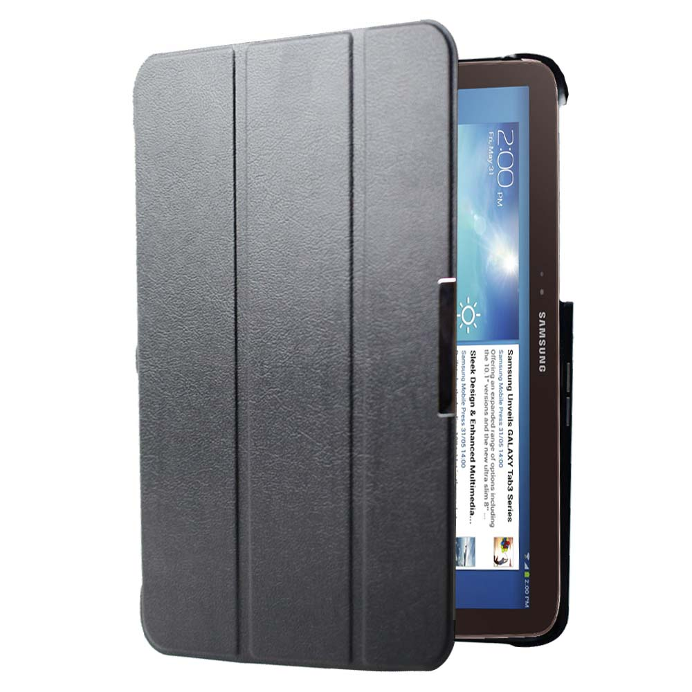 GT P5200 P5210 P5220 ultrathin slim smart Flip cover stand leather case for Samsung Galaxy Tab 3 10.1 book folio cover autosleep