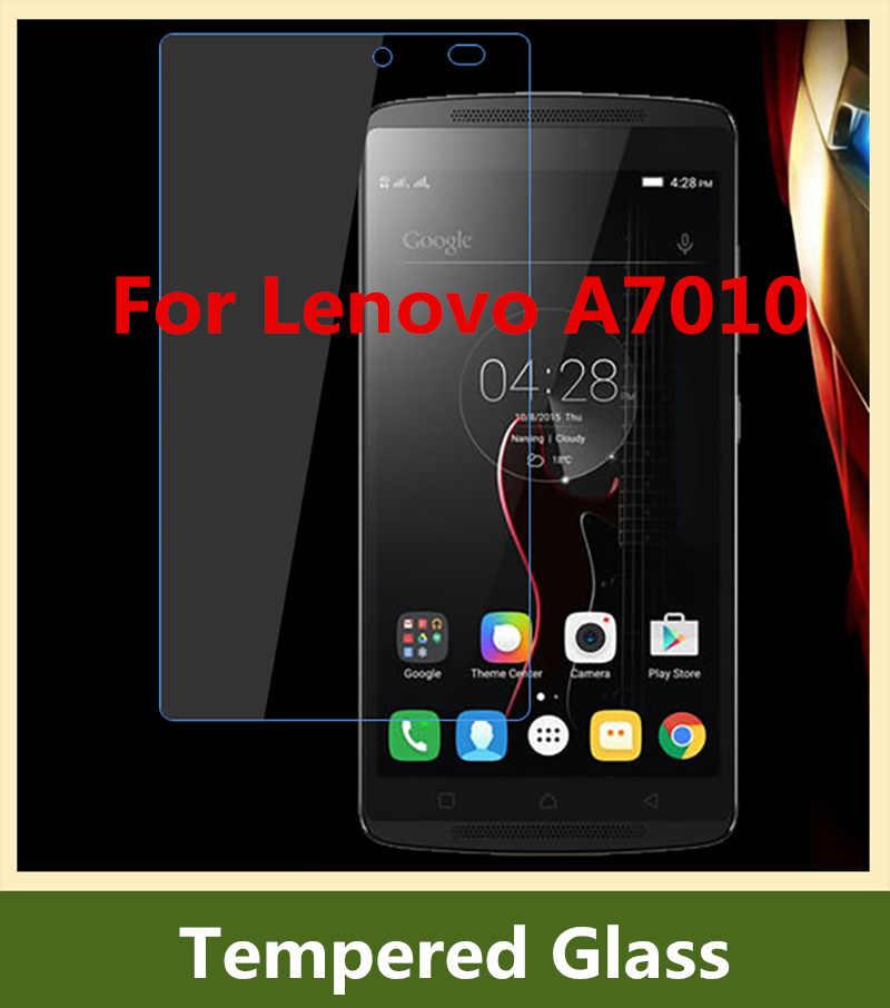 0.26mm için Lenovo A7010/X3 Lite/K4 Not Temperli Cam 100% Orijinal Için Yüksek Kaliteli Ekran Koruyucu lenovo A7010 Cep Telefonu