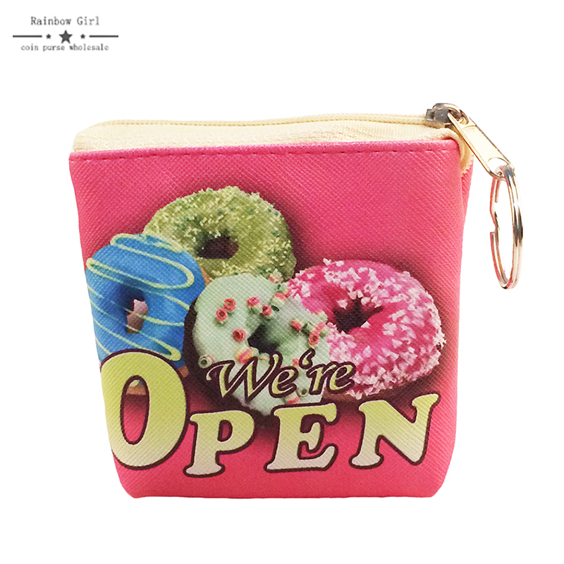 Ice Cream Coin Purse Cute Wallets for small items Coin Money Wallet for Children Fashion purse for girls Sky Blue Women's purse