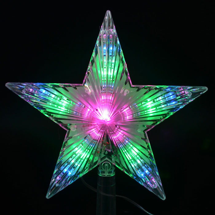 Aliexpress.com : Buy 7'' Flash Light Led Lamp Pentagram Star ...