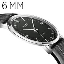 Vilam 2017 reloj de los hombres relojes de primeras marcas de lujo famoso reloj masculino reloj de cuarzo hodinky relog de cuarzo reloj relogio masculino
