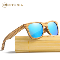 Kithdia Brand Wood Sunglasses Polarized Handmade Zebra Wooden Sunglasses and Support Drop Shipping / Provide Pictures #KD045