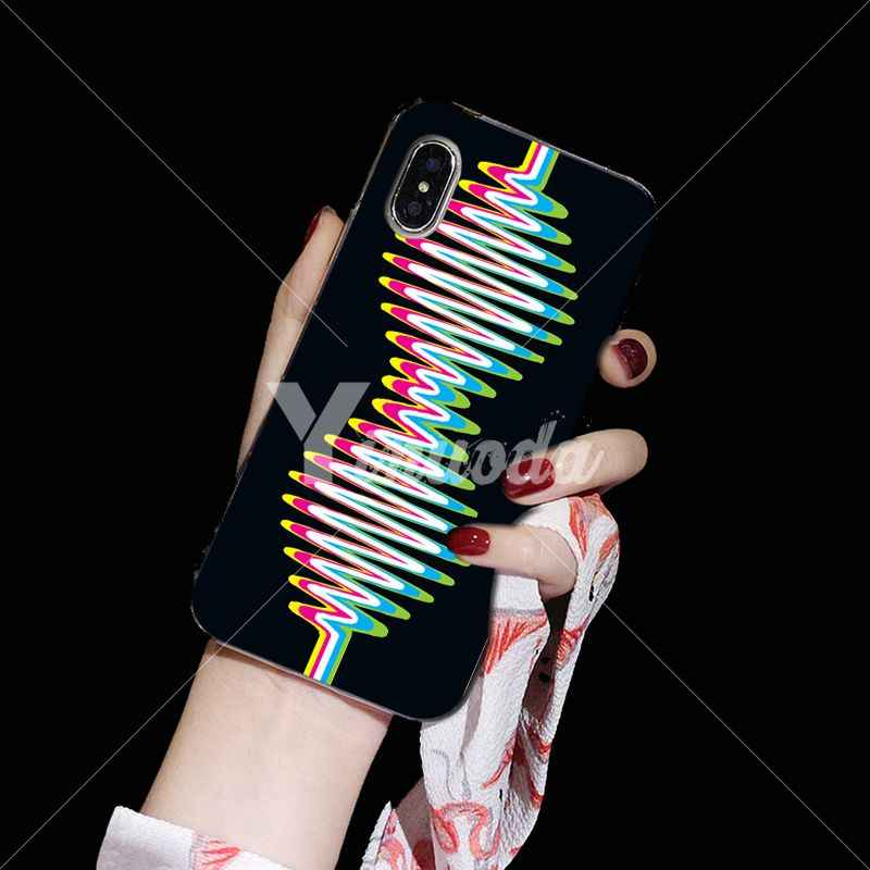 Yinuoda ARCTIC MONKEYS Прозрачный Мягкий ТПУ силиконовый чехол для телефона iPhone 5 5Sx 6 7 plus 8 X XS MAX XR
