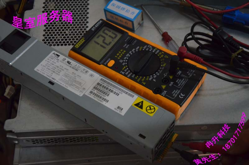 FOR IBM 675W 3650m2/M3 server power supply 12V 55A mute mining power s 2950 power