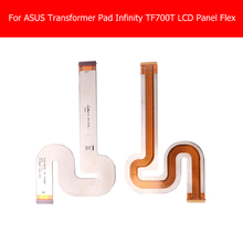 Panel LCD Flex Cable genuino Para Asus Transformer Pad Infinity Pantalla LCD Flex Cable Para Asus TF700 TF700T LCM_FPC Flex cable