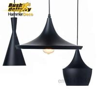 Matt Schwarz Eu Lager Metall Esszimmer Beleuchtung Produkte Anhänger Lichter  Für Hause