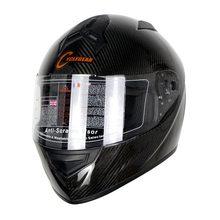 Высокое качество цикл передач углеродного волокна анфас шлем мотоцикла гоночный КАСКО утверждение ЕЭК CG931