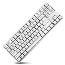 GANSS Mechanical Gaming Keyboard with Cherry MX Brown Switch 87 KeysTenkeyless (Anti-Ghosting) for Gamer(White) цена 2017