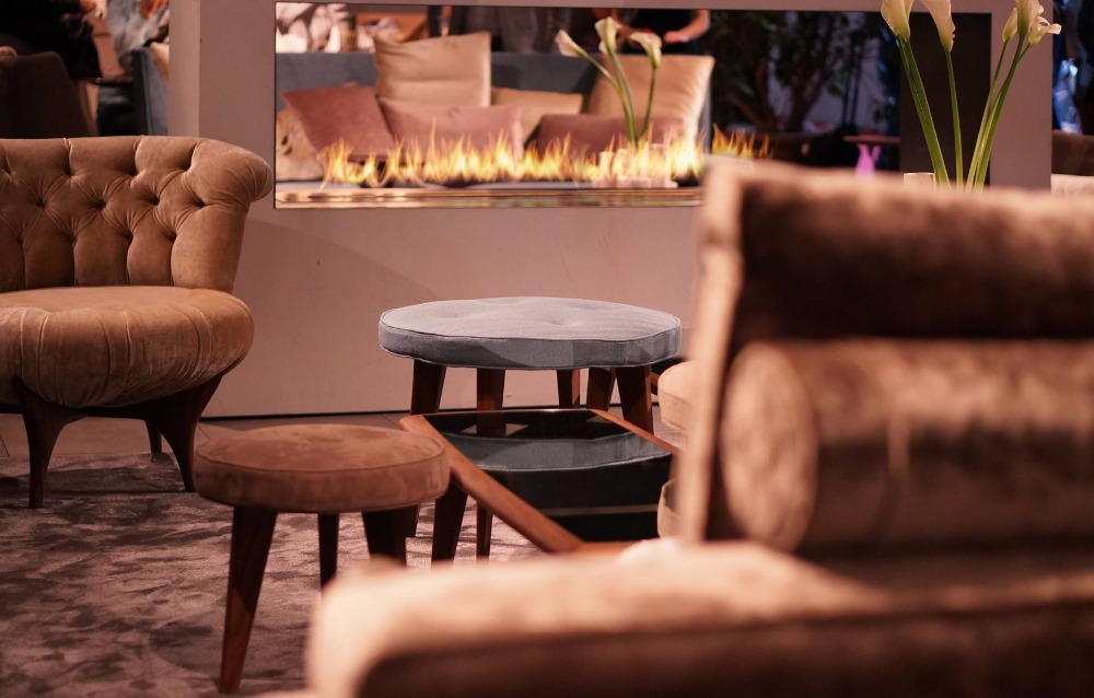 On Sale  24'' Bio Ethanol Fireplaces With Wifi Control