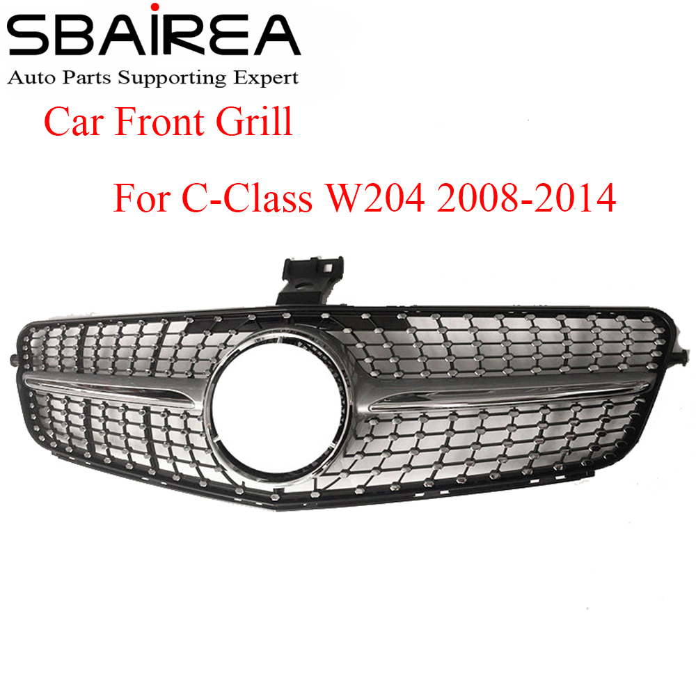 SBAIREA W204 Diamond Grill Without Emblem for Mercedes