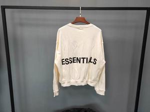 Image 5 - Qoolxcwear 2019 Mannen/Vrouwen Hoodies Sweatshirts Kanye West Fog Losse Ovesized Hoodies Essentials Hip Hop Katoen Sweatshirts