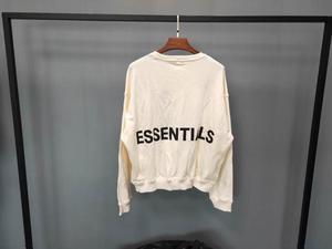 Image 5 - Qoolxcwear 2019 moletom moletom com capuz masculino/feminino kanye west nevoeiro solto ovesimed hoodies essentials hip hop camisolas de algodão