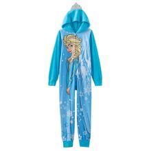 Пижамы для девочек 4-10 лет, детская одежда для сна для костюмированной вечеринки с героями мультфильмов, милые пижамы с капюшоном