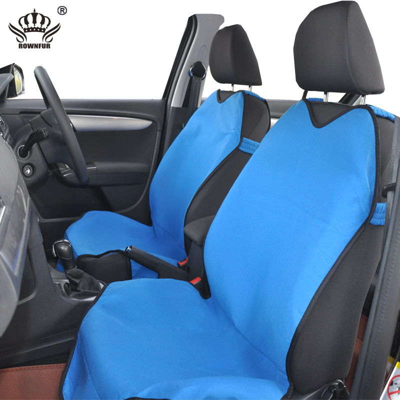 AutoCrown Car Seat Covers T Shirt Design 2pcs Universal Fit Auto Protector For Choice Interior Accessories In Automobiles From