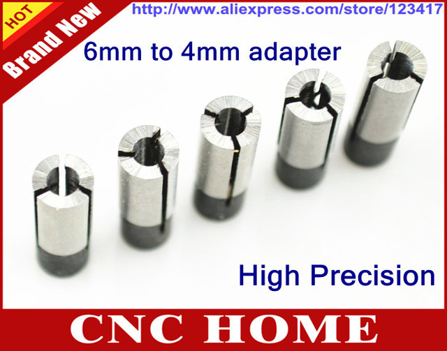 High Precision Router Bit Collet Chuck Adapter CNC Tool