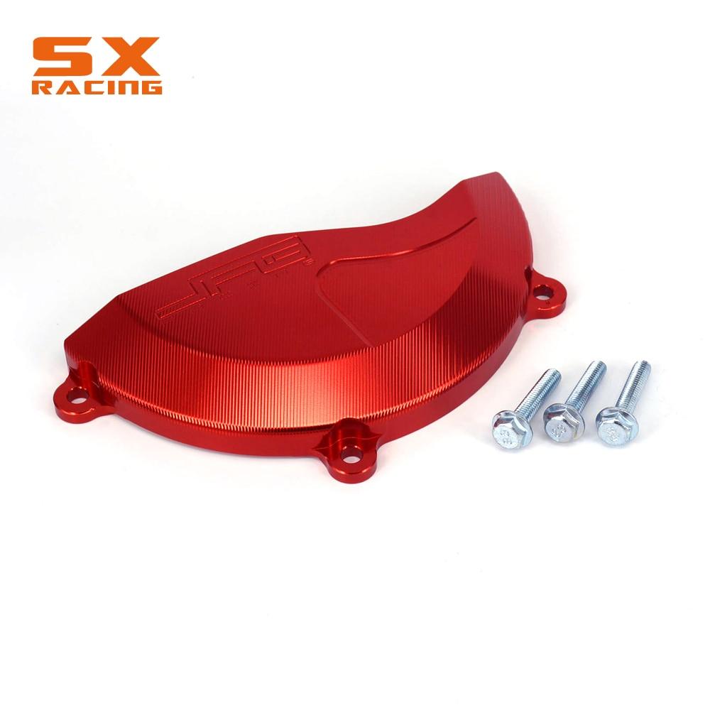 Protección del piñón motor piñón protección rojo Honda CRF CR-f 250 450 2009-2015 2014 2013