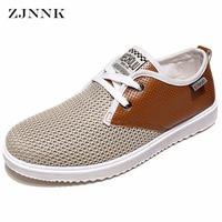 ZJNNK 뜨거운 판매 남성 여름 통기성 남성 캐주얼 신발 패션 Chaussure 옴므