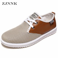 HANDL 2016 Hot Sale Men Summer Shoes Breathable Male Casual Shoes Fashion Chaussure Homme Soft Zapatos