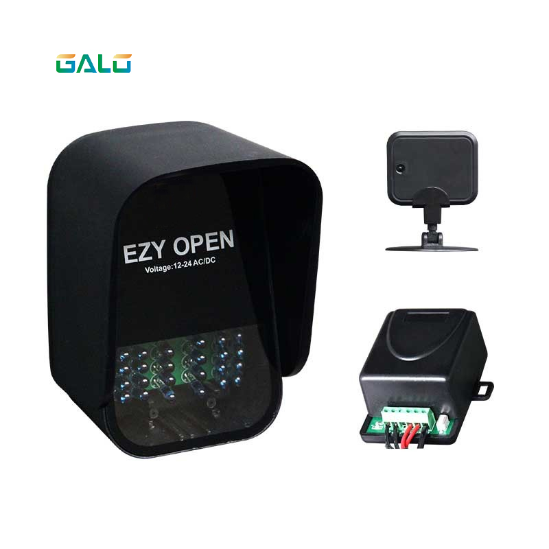Hands Free Device-EZY Open For Auto Automatic Door Opener Swing Sliding Barrier Gate Motor Remote UHF Card & Reader