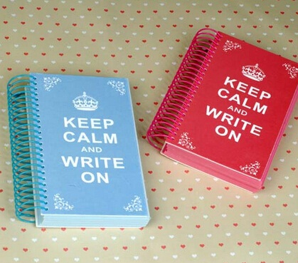 1pcs/lot  NEW Vintage Crown design DIY Multifunction coil Notebook retro style Diary