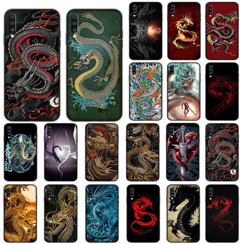 Chinese Dragon Soft <font><b>Case</b></font> for <font><b>Samsung</b></font> <font><b>Galaxy</b></font> A5 A6 A7 A8 A9 Plus A10 A20 A30 A40 <font><b>A50</b></font> A60 A70 M40 Cover image