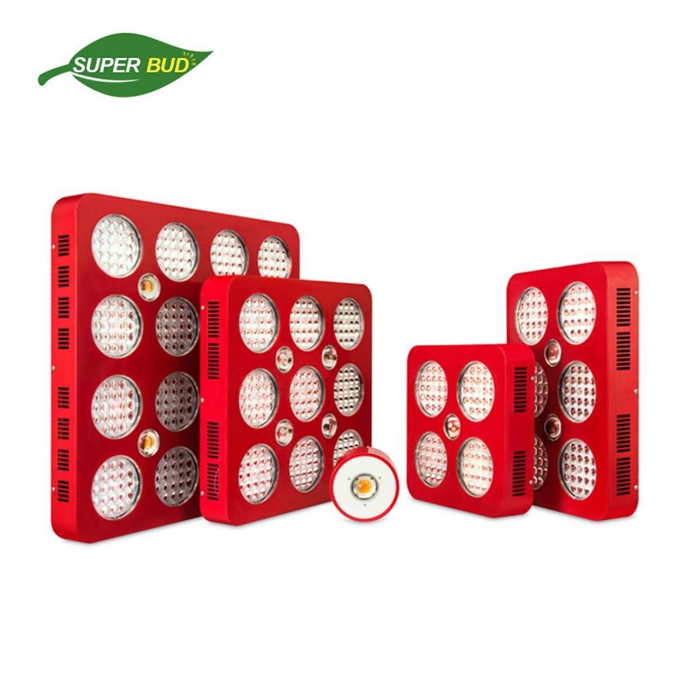 Superbud Pro full spectrum LED grow light 100W 400W 600W 1000W 1600W CREE CXA2530 COB& Bridgelux 5W veg& bloom indoor plant lamp