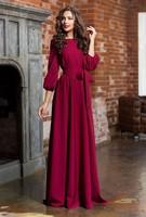 Fashion Sexy Women Dress Summer Elegant Chiffon Evening Long Maxi Dress Bohemian Maxi Dress