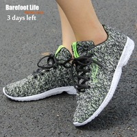 Black Green Color New Material Comfortable Woman Sneakers 2017 Soft Good Sport Running Walking Athletic Shoes