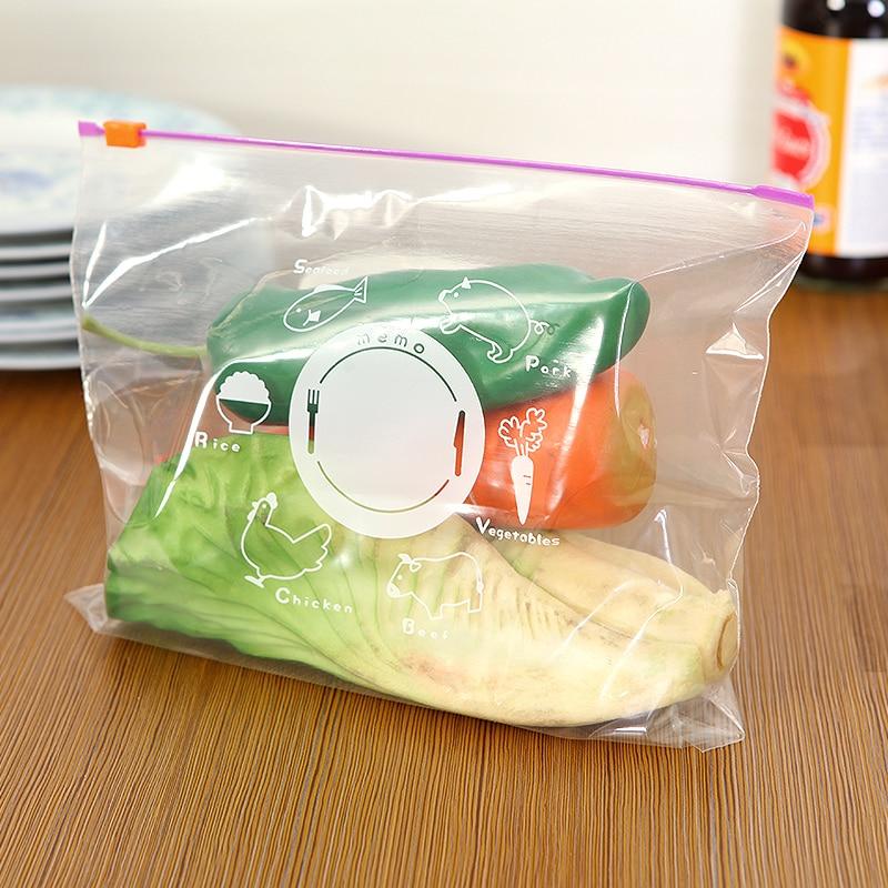 10pcs/set Food Saran Wrap Plastic Bags Kitchen Gadget Home Storage  Organization Wholesale Bulk Lots Accessories Supplies Product-in Saran Wrap  &