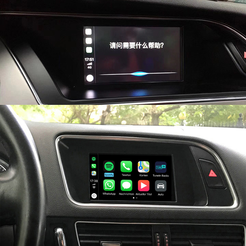 Sinairyu Video Interface With Carplay Screen Mirroring Functions for A4 A5  B8 Q5 With Audi Concert Symphony Model