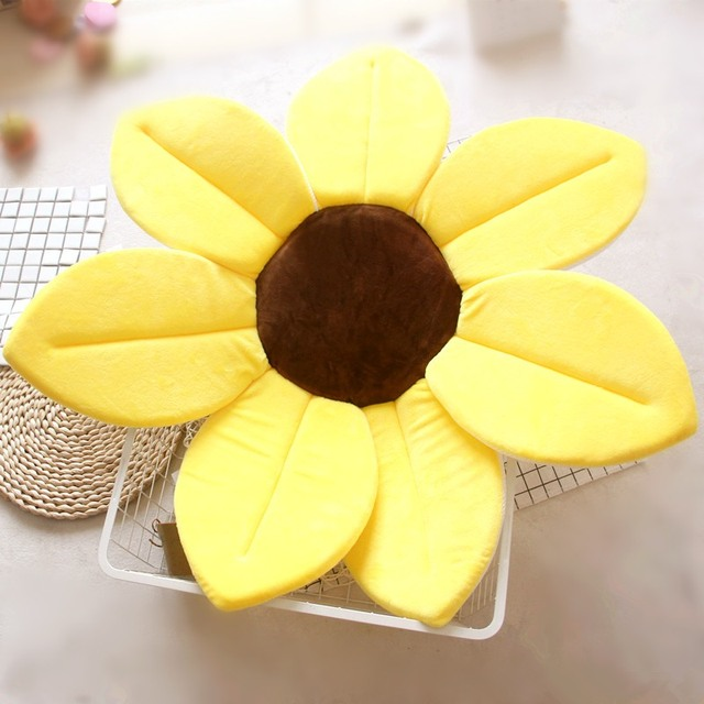 Baby Flower Shaped Bath Pads
